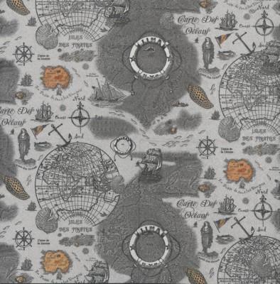Decoupage Napkin|Sea Travel Map Napkins|Paper Napkins for Decoupage